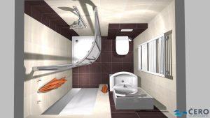 Moderní světlá koupelna_15