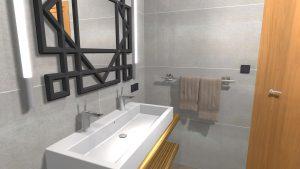 Moderní koupelna-9