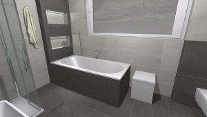 Moderní přírodní koupelna – Imitace kamene_18