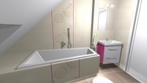 Moderní veselá koupelna_7