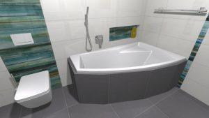 Moderní veselá koupelna_16