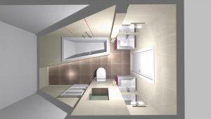 Moderní veselá koupelna_8