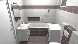 Moderní světlá koupelna_11