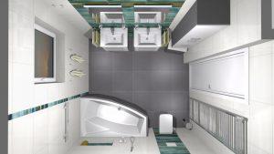 Moderní veselá koupelna_17