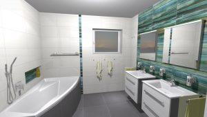 Moderní veselá koupelna_13