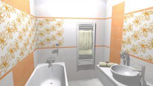 Moderní veselá koupelna_3