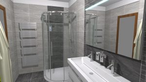 Moderní přírodní koupelna – Imitace kamene_7