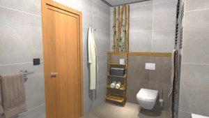 Moderní koupelna-10