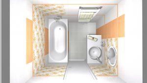 Moderní veselá koupelna_4