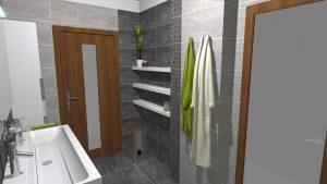 Moderní přírodní koupelna – Imitace kamene_9