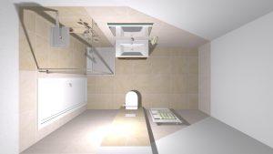 Moderní veselá koupelna_12