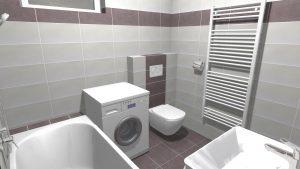 Moderní světlá koupelna_10