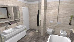 Moderní přírodní koupelna – Imitace kamene_10