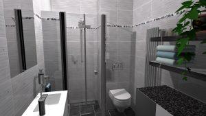 Moderní koupelna-1