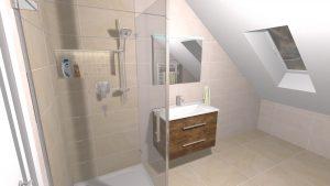 Moderní veselá koupelna_9