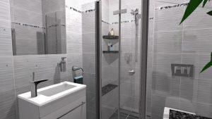 Moderní koupelna-3