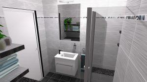 Moderní koupelna-2