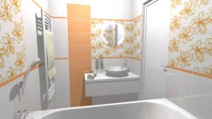Moderní veselá koupelna_1