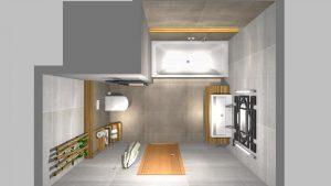 Moderní koupelna-13