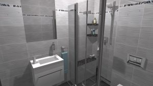 Moderní koupelna-5