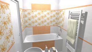 Moderní veselá koupelna_2