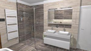 Moderní přírodní koupelna – Imitace kamene_11