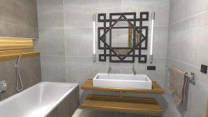 Moderní koupelna-8