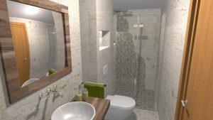 Moderní přírodní koupelna – Imitace kamene_8