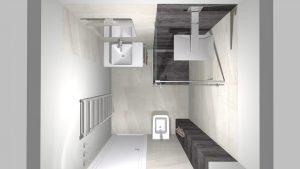 Moderní přírodní koupelna – Imitace kamene_5