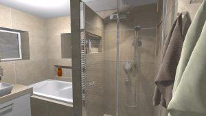 Moderní světlá koupelna_8