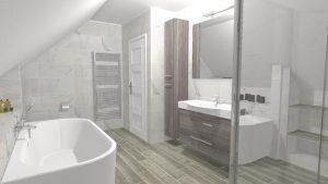 Moderní světlá koupelna_3